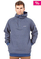 MAZINE  Sophomore Hooded Sweat nightsky melange