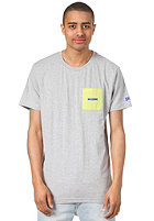 MAZINE Stanley S/S T-Shirt light grey mel.