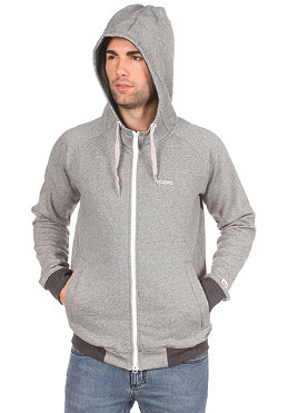 MAZINE Tanko 2 Hooded Zip Sweat grey/white stripes