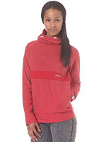 MAZINE Womens 02 Hooded Sweat red mel.
