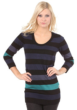 MAZINE Womens Ace Knit black/navy