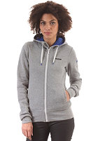 MAZINE Womens Basic Hooded Zip Sweat grey melange