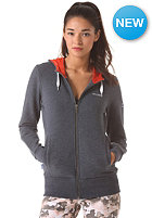 MAZINE Womens Basic Hooded Zip Sweat navy melange