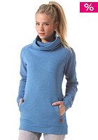MAZINE Womens Clovis Turtle Sweatshirt blue melange
