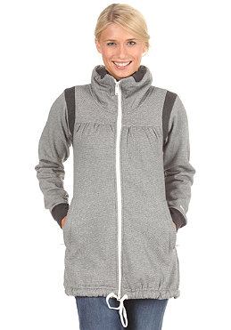MAZINE Womens Denca 2 Jacket grey/white stripes