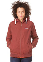 MAZINE Womens Dogella Hooded Jacket oxblood