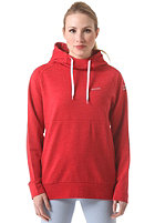 MAZINE Womens Hooded Sweat 02 tango red melange