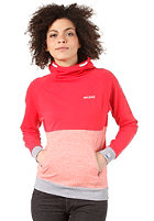 MAZINE Womens Iamoi Hooded Sweat poppy / red grizzle