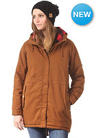 MAZINE Womens Leeds Parka Jacket simian brown