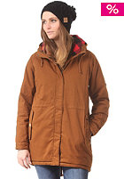 MAZINE Womens Leeds Parka Jacket simian brown