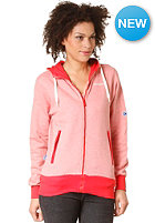 MAZINE Womens Liza Hooded Zip Sweat red grizzle