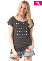 MAZINE Womens Lotta S/S T-Shirt black melange