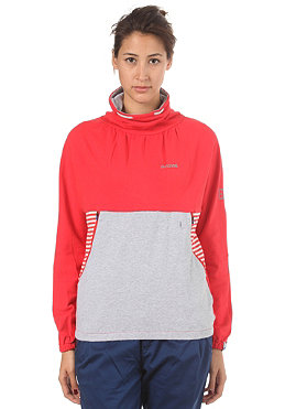 MAZINE Womens Matalo Sweatshirt poppy/light grey melange