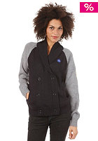 MAZINE Womens Mille Knit Cardigan night/mid grey melange  