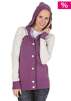 MAZINE Womens Momo2 Hooded Zip Sweat sunset purple/grey