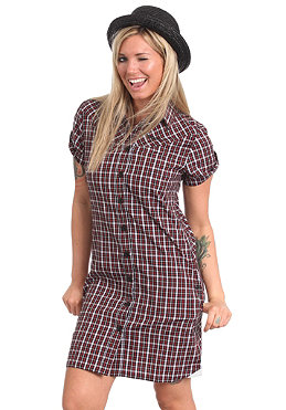 MAZINE Womens Nicki Dress black/red checked