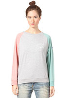 MAZINE Womens Oneida 2 Longsleeve red grizzle / light grey mel.