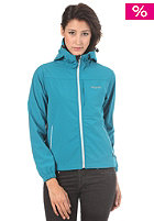 MAZINE Womens Selma Hooded Zip Windbreaker Jacket ocean