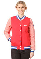 MAZINE Womens Team Sweat Jacket poppy / red grizzle mel.