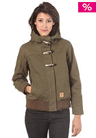 MAZINE Womens Uranus Hooded Jacket deep olive