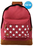 MI PAC Stars Backpack burgundy