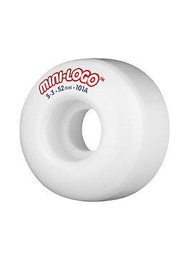 MINI LOGO Wheels #10 S3 101a white 52mm