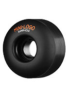 MINI LOGO Wheels 4PK 101A 53mm black