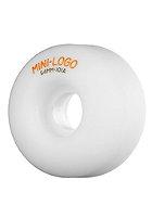 MINI LOGO Wheels 4PK 101A 53mm white