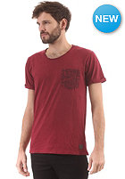 MINIMUM Cambell S/S T-Shirt maroon
