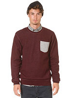 MINIMUM Claiborne Sweat bordeaux