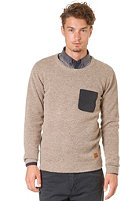 MINIMUM Daniel Knit Sweat lion melange