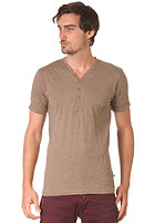 MINIMUM Enrico S/S T-Shirt Tuscan tan mel