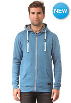 MINIMUM Fausto Hooded Zip Sweat blue sapphire mel