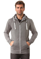 MINIMUM Fausto Hooded Zip Sweat charcoal melange
