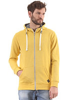 MINIMUM Fausto Hooded Zip Sweat lemon curry mel