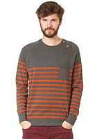 MINIMUM Myron Knit Sweat burnt sienna