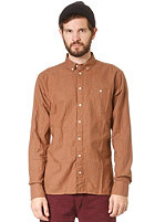 MINIMUM Stanley Shirt Saddle brown