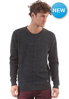 MINIMUM Wesley Knit Sweat charcoal melange