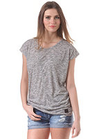 MINIMUM Womens Blonda S/S T-Shirt light grey melange