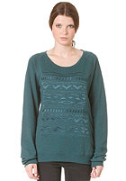 MINIMUM Womens Colla Sweat shadow green