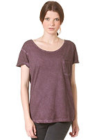 MINIMUM Womens Dawn S/S T-Shirt plum
