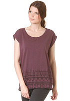 MINIMUM Womens Faya S/S T-Shirt plum