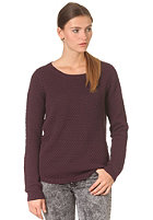 MINIMUM Womens Sola Blouse plum