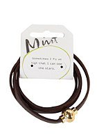 MINT Loop D Loop Gold Bracelet brown