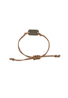 MINT Womens Don�T Worry, Be Happy Bracelet ant. br-light brown