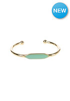 MINT Womens Enameled Cuff Bracelet gold - turquoise