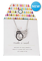 MINT Womens Handcuff Chain Necklace silver