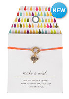 MINT Womens Heart Neon Chain Bracelet mixed
