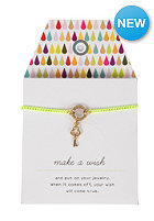 MINT Womens Key Neon Chain Bracelet neon yellow