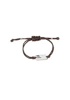 MINT Womens Live, Love, Laugh Bracelet br. silver -dark brown
